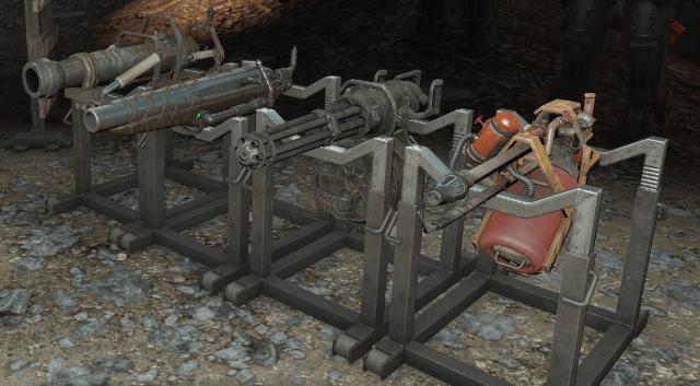 fallout 4 тяжелое оружие